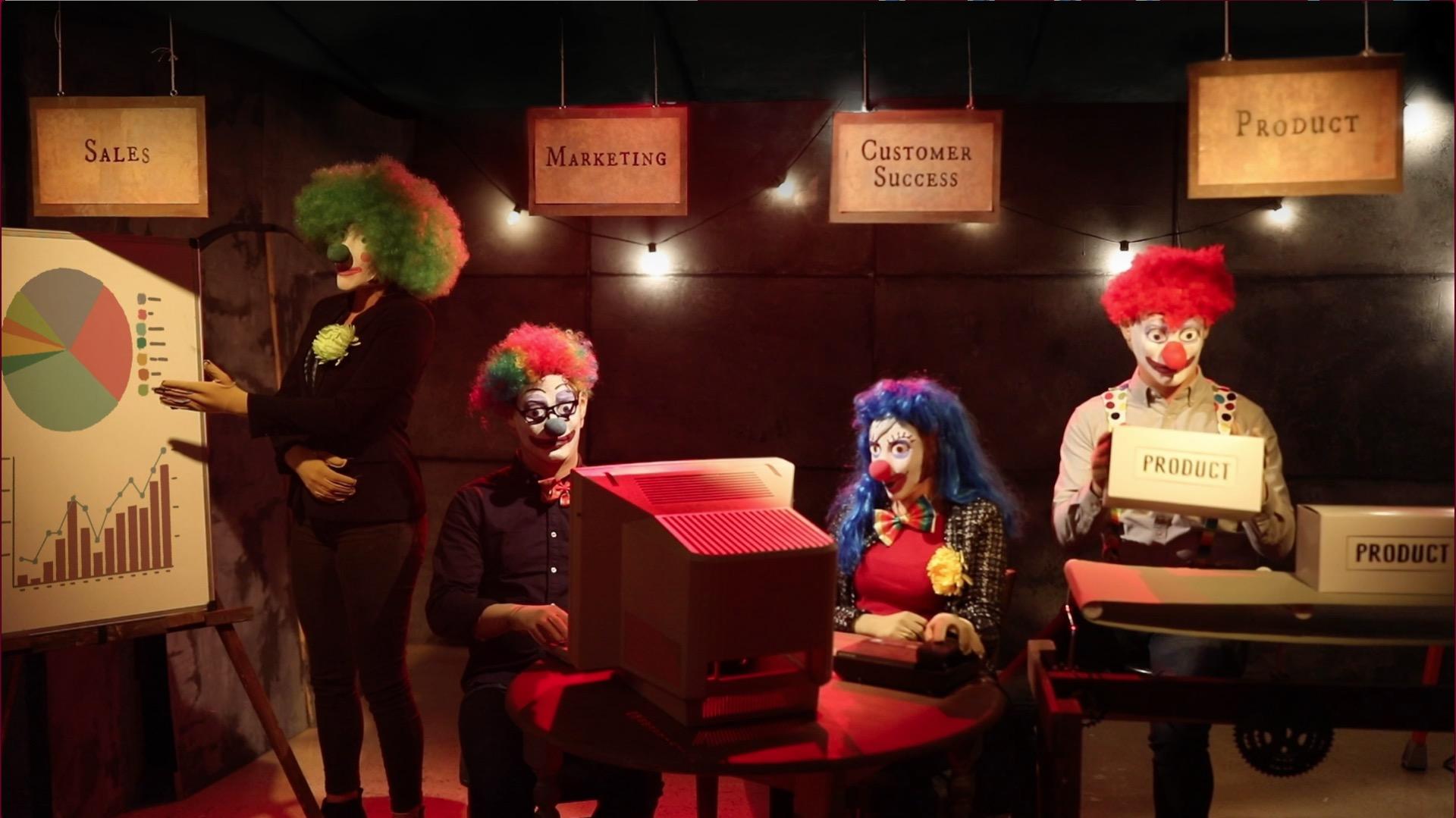 Carnival Robot Clowns 1