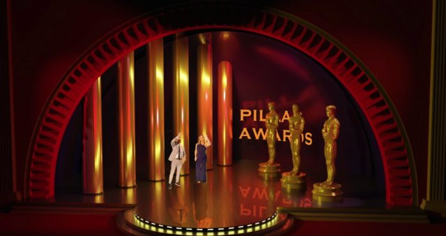 Virtual Sets for Virtual Awards!